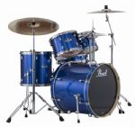 "PEARL EXPORT EXX 22"" ROCK/FUSION ELECTRIC BLUE SPARKLE with SABIAN SBR CYMBALS"